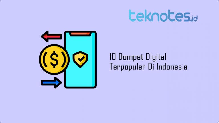 10 Dompet Digital Terpopuler Di Indonesia