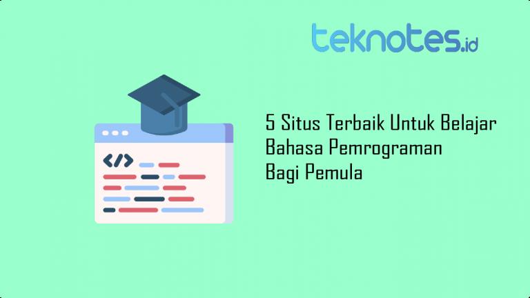 5 Situs Terbaik Untuk Belajar Bahasa Pemrograman Bagi Pemula