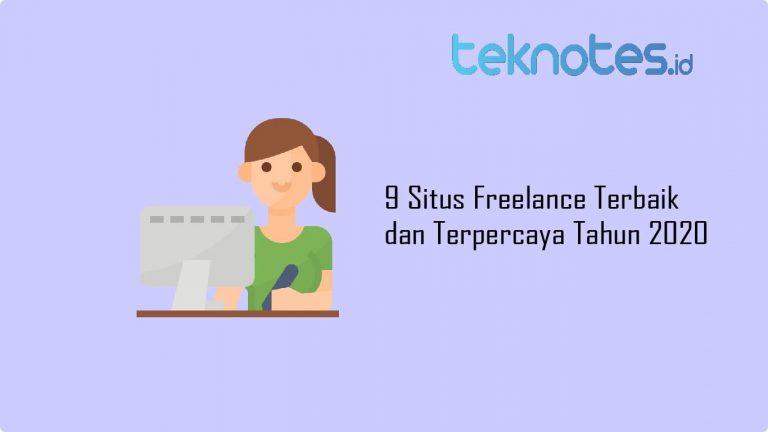 9 Situs Freelance Terbaik dan Terpercaya Tahun 2020