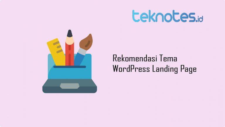 Rekomendasi Tema WordPress Landing Page